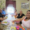 Arts & crafts forge friendships at Jennie Lane Apartments