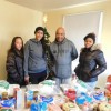 Holiday dinners for three Robinson Gardens families