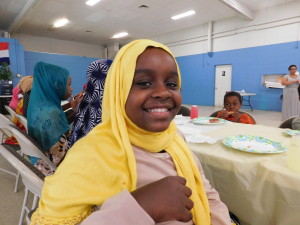 Saynab Mohamed, 10, loves everything about the youth program at Riverview Apartments.